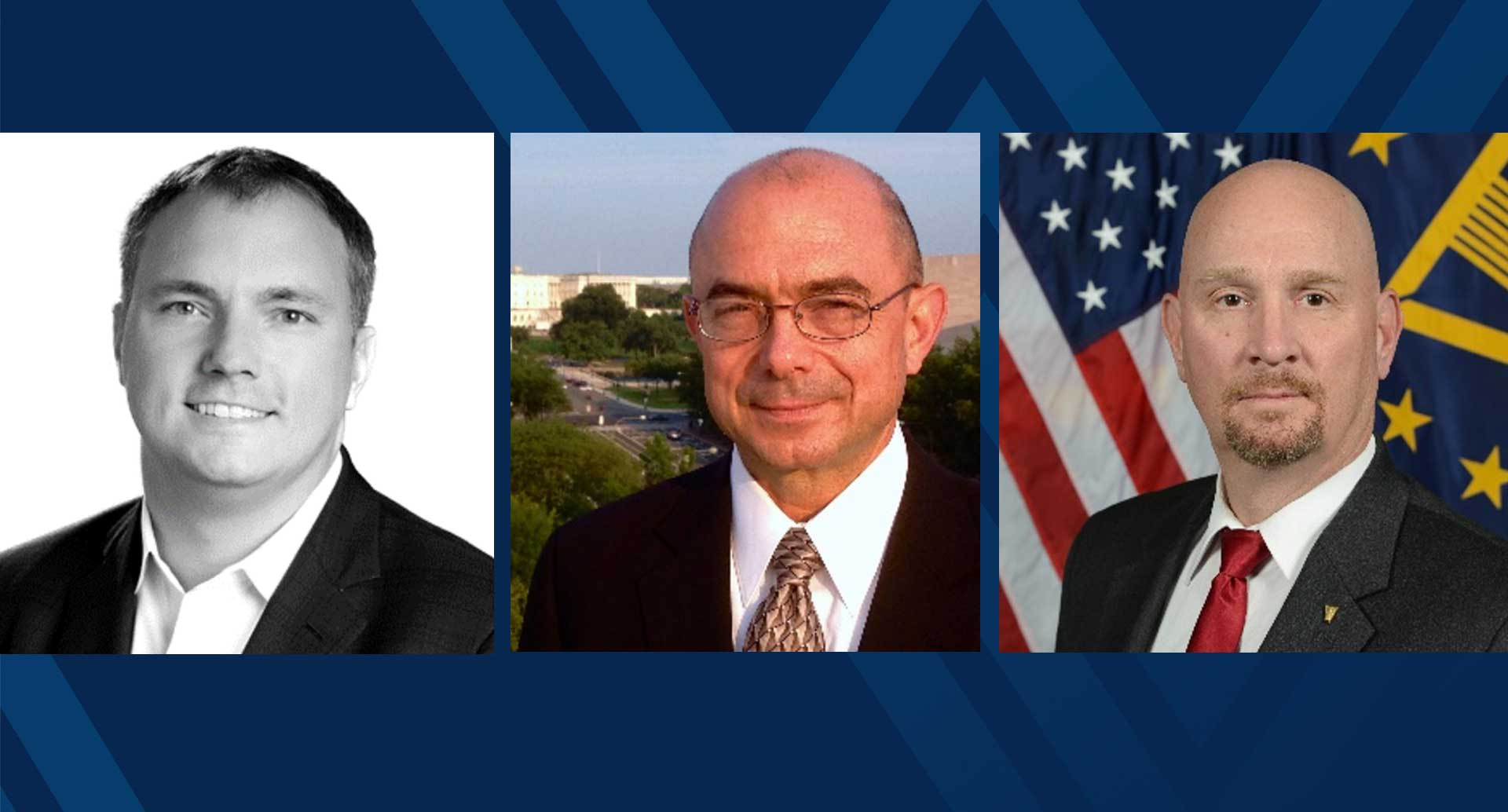 The Statler Collegewill be hosting a virtual panel discussion withcybersecurity experts on Tuesday, April 13 at 5 p.m. Panelists include(pictured left to right) Travis Rosiek, Joseph Brendler and David Mihelcic. (Photos submitted)