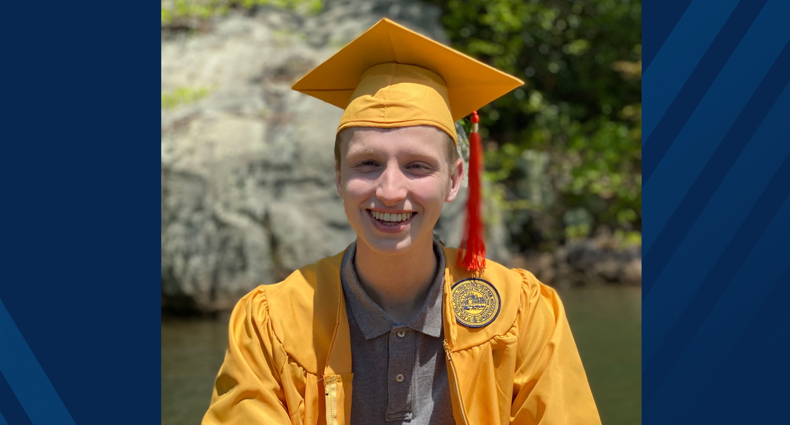 Will McNeil will be studying at the University of California, Berkley, and plans to studysolutions to water pollution, including acid mine drainage. (Submitted photo)