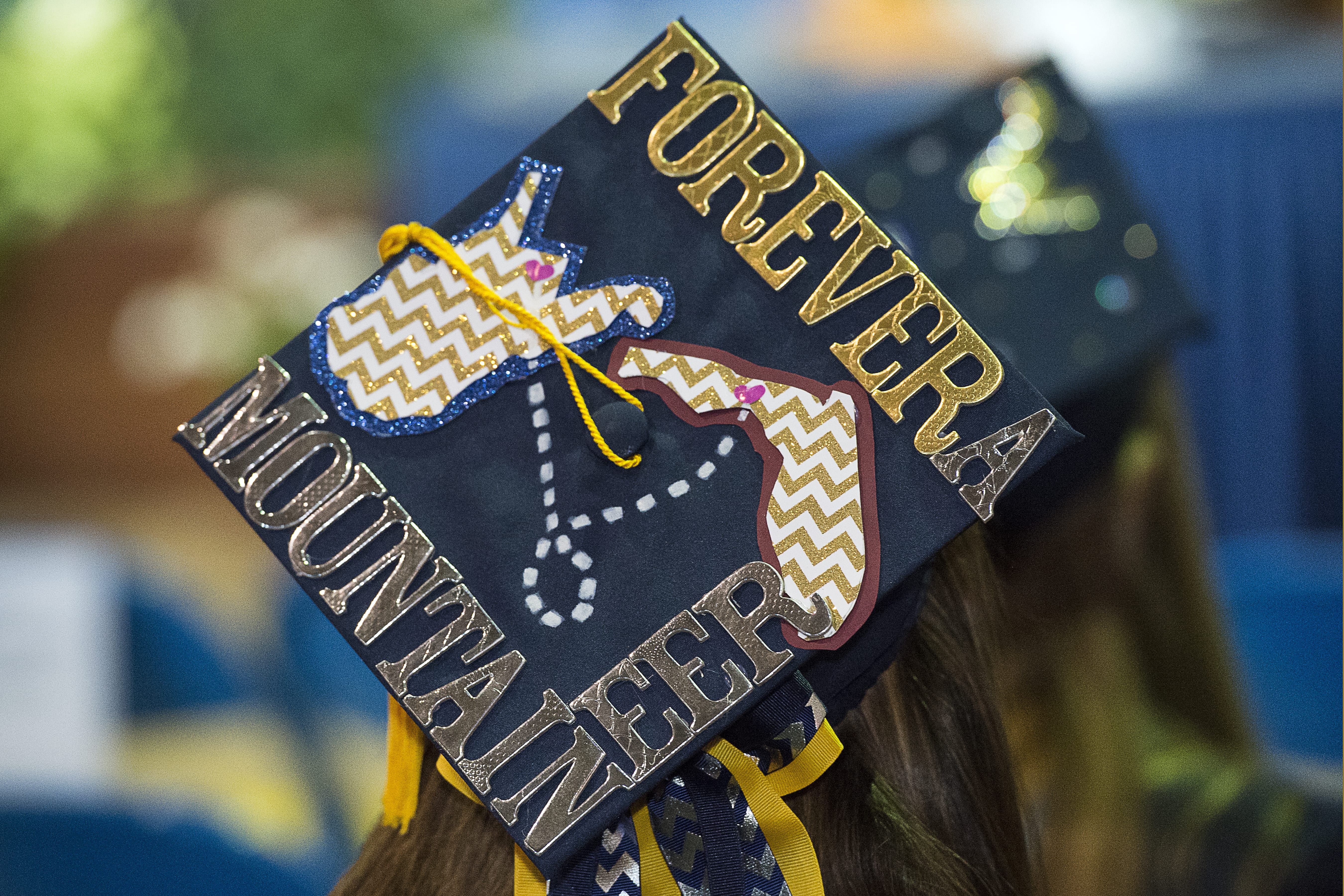 <p>WVU will return to in-person commencement ceremonies with four graduation exercises   at Milan Puskar Stadium May 15 and 16. (WVU Photo)</p> <a class=