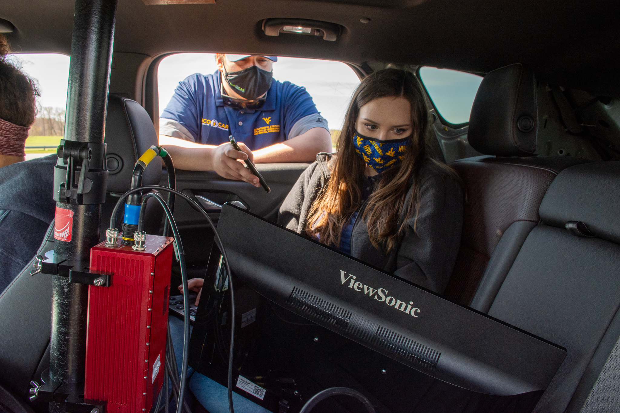 West Virginia University's EcoCAR team consisting of 90 students finished third in the four-year competition to redesign the 2019 Chevrolet Blazer into an energy-efficient hybrid. (Submitted photo)