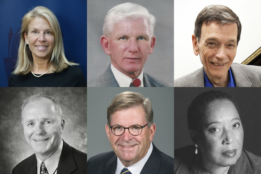 Six people, including two former West Virginia University presidents, will be honored Friday (Sept. 10) for their loyalty and service to the University as they are inducted into the Order of Vandalia.(WVU Photo)