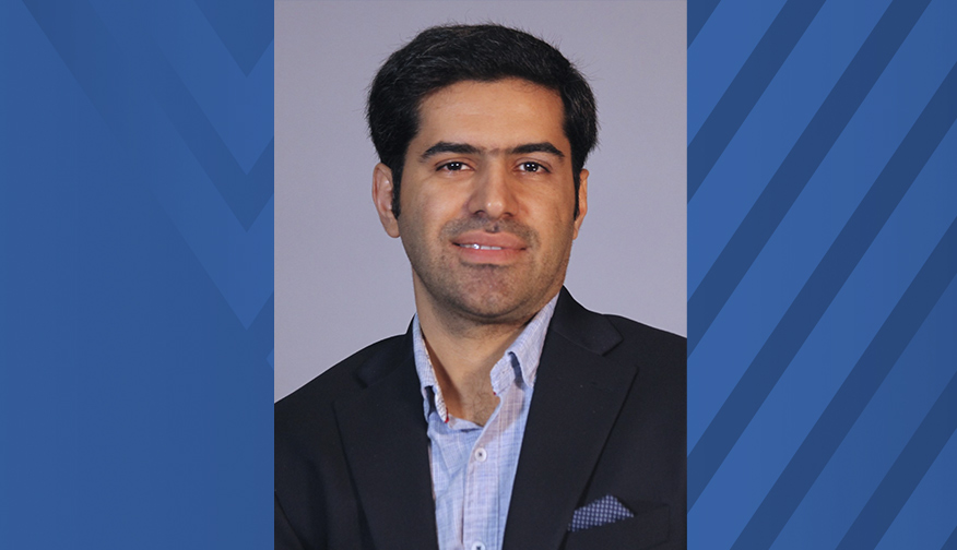 Research Assistant Professor Ali Baheri has been awarded a grant to develop safety   verification frameworks for learning-based avionic systems. (Submitted photo)